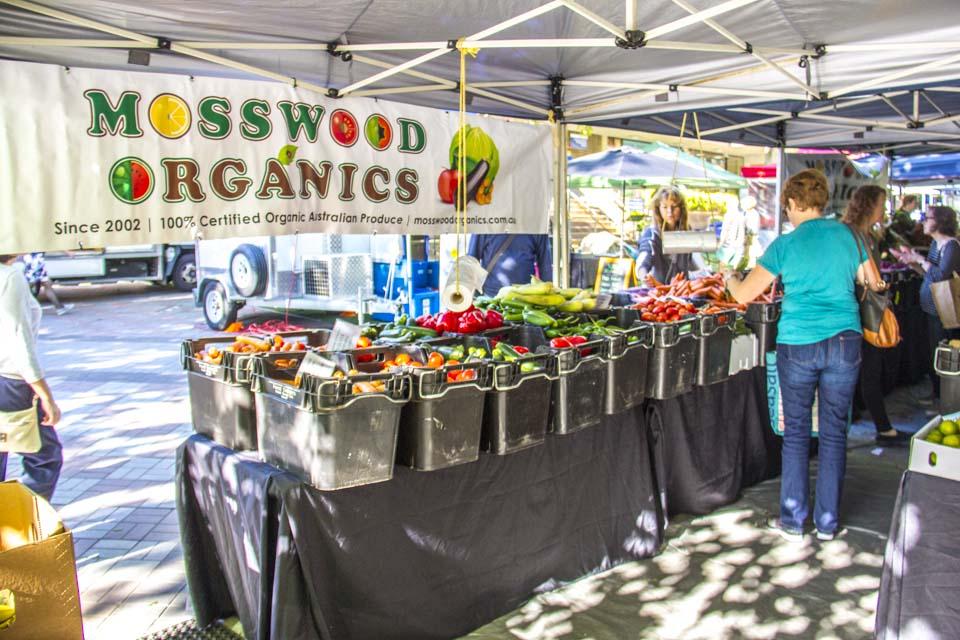Mosswood Organics - markets
